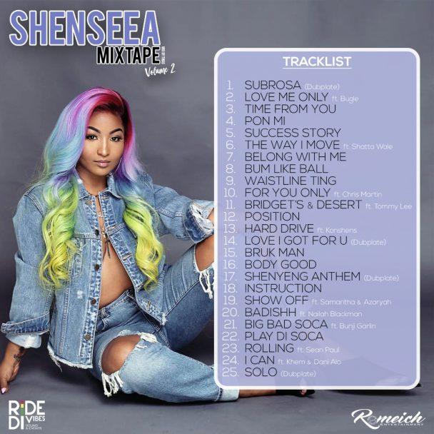 SHENSEEA OFFICIAL MIXTAPE VOLUME 2 14
