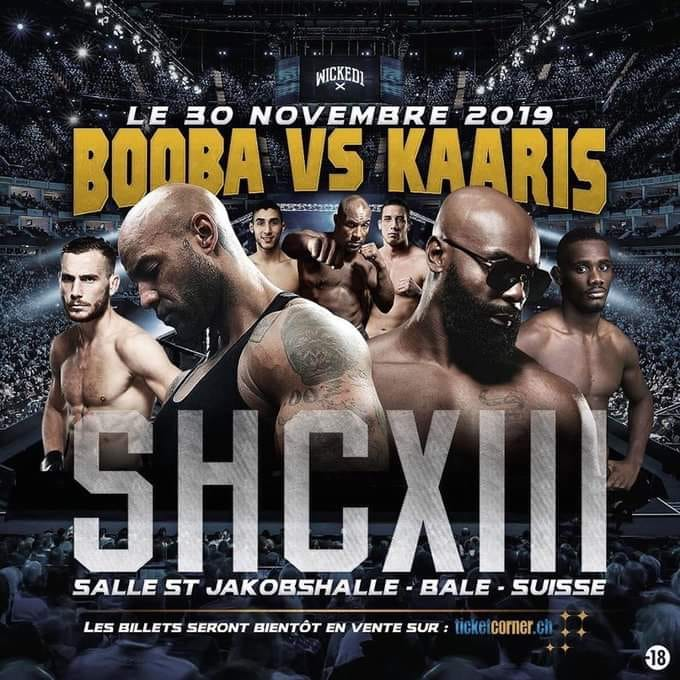 BOOBA VS KAARIS C'EST POUR LE 30 NOVEMBRE EN SUISSE! 2