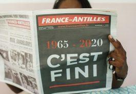 FRANCE ANTILLES COULE ET ÉCOULE SES DERNIERS NUMÉROS 6