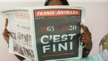 FRANCE ANTILLES COULE ET ÉCOULE SES DERNIERS NUMÉROS 3