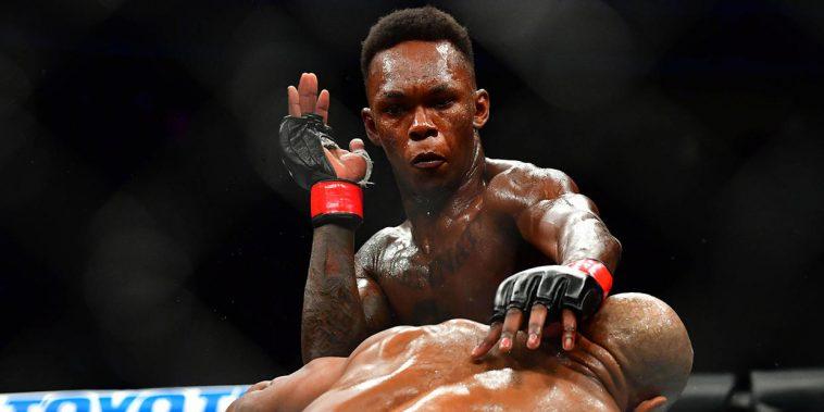 ISRAËL ADESANYA LA NOUVELLE STAR DE L'UFC 1