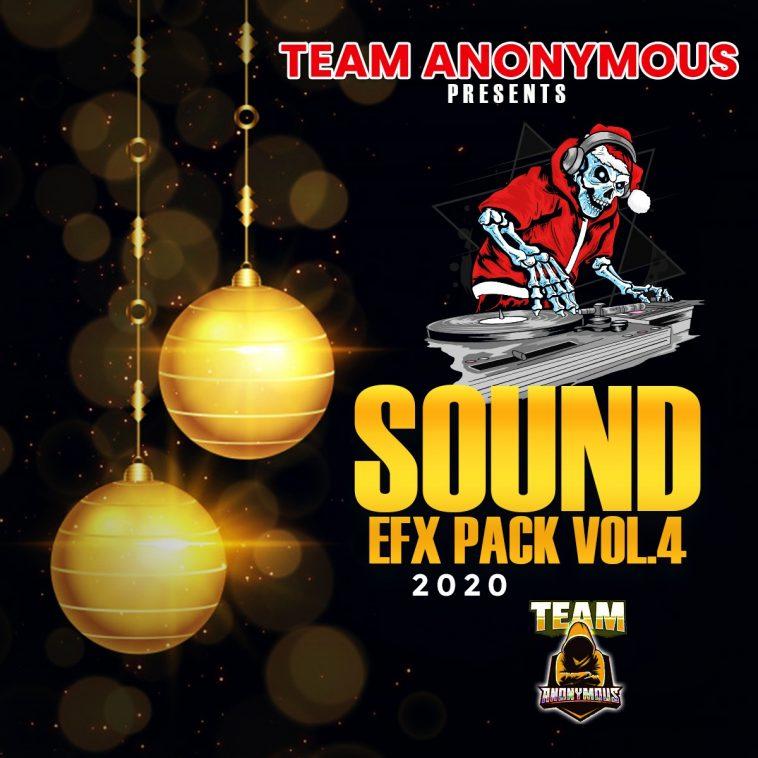 TEAM ANONYMOUS - SOUND EFX PACK VOL. 4 (EFX 2020) 1