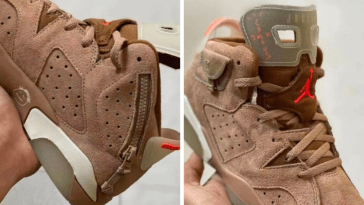 UNE NOUVELLE AIR JORDAN 6 X TRAVIS SCOTT A VENIR! 10